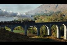 On the Rails / Our range of train-touring now includes Scotland, Ireland and the North of England...