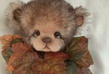 TEDDY BEARS, MOUSE...