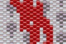 Beading: weave YSL
