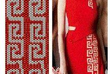Beading: weave Griglia Fashion