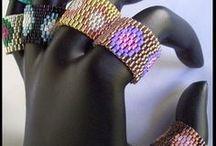 beading: weave Ring