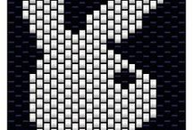 Beading: weave Playboy