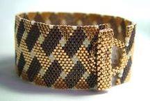 Beading: weave Gold