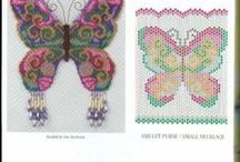 Beading: weave Butterfly