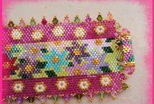 Beading: weave Flowers