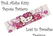 Beading: weave Hello Kitty