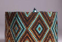 Beading: weave Rhombus