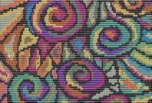 Beading: weave Circle