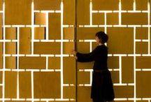 Gate / Screen / Reja / Gates screen perforated metal reja dolor cierres
