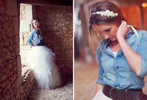 Wedding with Denim