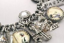 Charm bracelets / Beautiful bracelets that all have dangly things to jingle around your wrist.