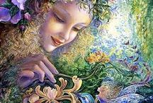 Josephine Wall / Josephine Wall... One of my all time favorite artists.