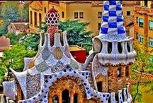 Gaudi / Gaudi's masterpieces.... How I would love to go back to Barcelona !