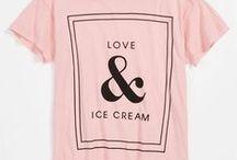 Prints on T-shirts