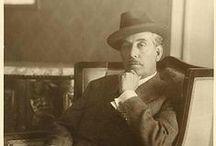 Foto e ritratti di Giacomo Puccini / Giacomo Puccini nacque a Lucca il 22 dicembre 1858.  Morì il 29 novembre 1924