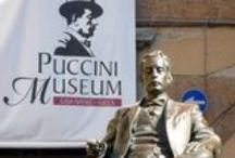 Puccini Birthplace - casa natale di Puccini / All'interno delle Mura della storica città di Lucca, Piazza Cittadella e Corte San Lorenzo sono luoghi densi di memoria, che rimandano direttamente all'infanzia e alla prima giovinezza di Giacomo Puccini.  Il cuore di questo suggestivo itinerario è il Puccini Museum – Casa natale, dove Giacomo Puccini nacque il 22 dicembre 1858.