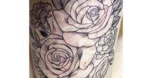 Tattoos / Painting my body, bit by bit