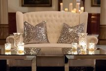 Blingalicious interior design / Interior design inspiration that has that extra bling factor.