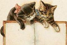Vintage Kitties / by Kim Theaker