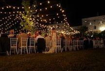 lights+candles / Wedding Reception Lighting