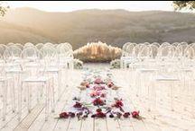 wedding ceremony {ideas} / ideas for a wedding ceremony settings