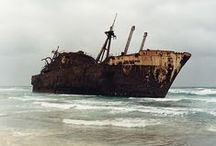 Abandoned ships and places