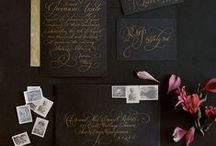 black - wedding inspiration by color