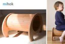 Der vielseitige Kinderhocker mihok / mihok - der vielseitige Hocker