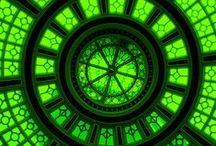 Green.