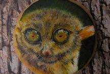 Hand Painted Sugar Art / Edible art and hand painting
