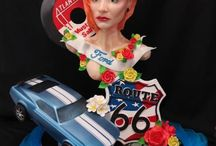 Ford Mustang Cakes / In celebration of Ford Mustang 50th Anniversary