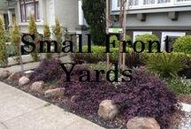 Small Front Yards- San Francisco / Decor ideas for small plants in or outside houses. Small front yards, cool innovative ideas, succulents, ornamental grasses