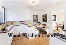 Wood Kitchen Floors- San Francisco / Nice wood kitchens in San Francisco. Creative and innovative ideas.