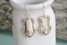 Silver Spoon Jewelry by Girl Ran Away With the Spoon