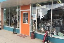 Girl Ran Away Brick and Mortar shop in Miles City, MT / We have a full retail shop and working jewelry studio in the heart of Miles City, MT.