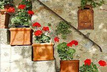 Puutarhaunelmia / Ideoita pihalle, terassille, puutarhaan