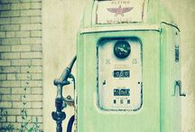 OLD Gas Pumps / by Mary Barnes-Schneible