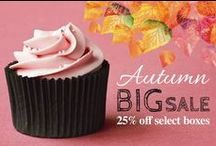 Autumn 25% off Sale / Check out our great sale happening now! www.betterbakersbox.com