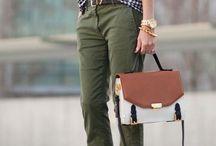 Pantalones / En este tablero encontrarás algunas de nuestras propuestas de #moda #casual para #pantalones de #mujer.