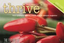 Thrive Magazine Winter - Health & Nutrition / Thrive magazine is focused on healthy, clean eating and living a healthy lifestyle. We bring all of the key EXPERT information together in a beautiful magazine.  Inside this Winter issue:  • An interview with Seb Cole - founder of PUKKA HERBS • Can salt be healthy?  • Eating healthy at work from Bupa • Juicing mistakes  • Natural options for Christmas • Superfood smoothies • All about kefir   • Vegan Christmas cake recipe