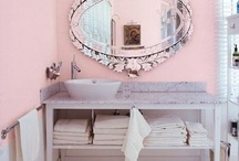 Pretty Bathrooms / gorgeous bathrooms, tubs and colors