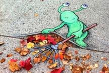 Grab Some Chalk / 3 d chalk art / by Dena Deanda
