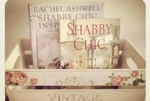 Shabby & Chic / I am challenging myself to find all things in shabby, doing good, got a boat, avairy, door, gate, etc, having fun!! Comfortable, inviting, pinks, greens, soft, roses, shabby & chic, I LOVE it!