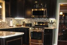 Kitchen/Dining / Can you tell how much I adore marble?? / by Kayla Brown