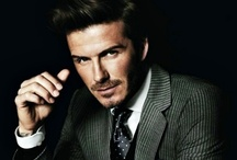 David Beckham / David Beckham is one of Britain's most iconic athletes whose name is also an elite global advertising brand. / by Dena Deanda