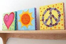 Peace, Love & Happiness Room / by Michelle (simplyseashell.com)