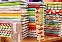Quilting ideas: fabric crushes