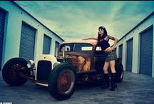 Cars - Girls - Pinups