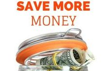 Saving Money / Tips for Saving Money and Advice from Frugal Money Savers. / by 5 Minutes For Mom