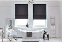 Monochrome Home Decor / For those who like black and white Bloc Blinds have a wide range of award winning window blinds made to measure and available online. Shop our full range of black and white window blinds and order free swatches today.